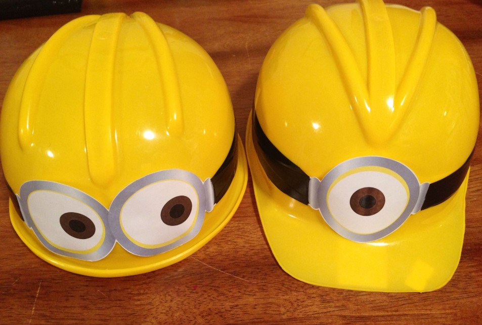 Hard Hat Minion Accessories