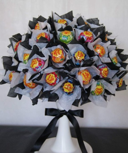 Lollipop Tree Candy Bouquet