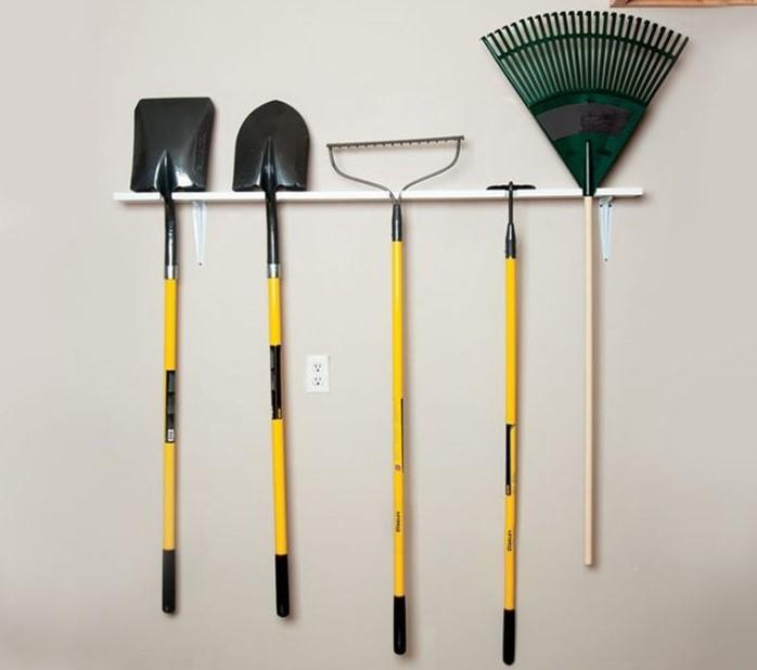 Minimalist Garden Tool Organizer