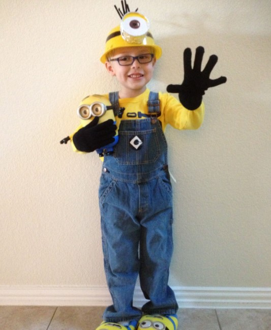 Minion Outfit for Boys
