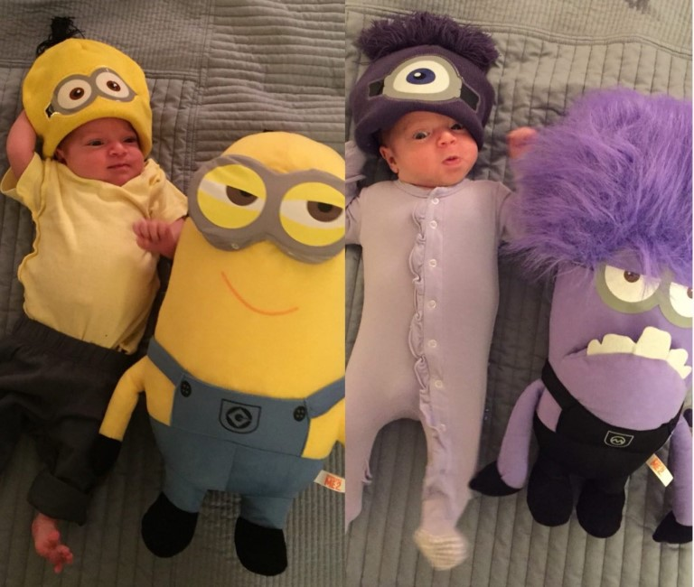 Minion and Evil Minion Outfit for Baby