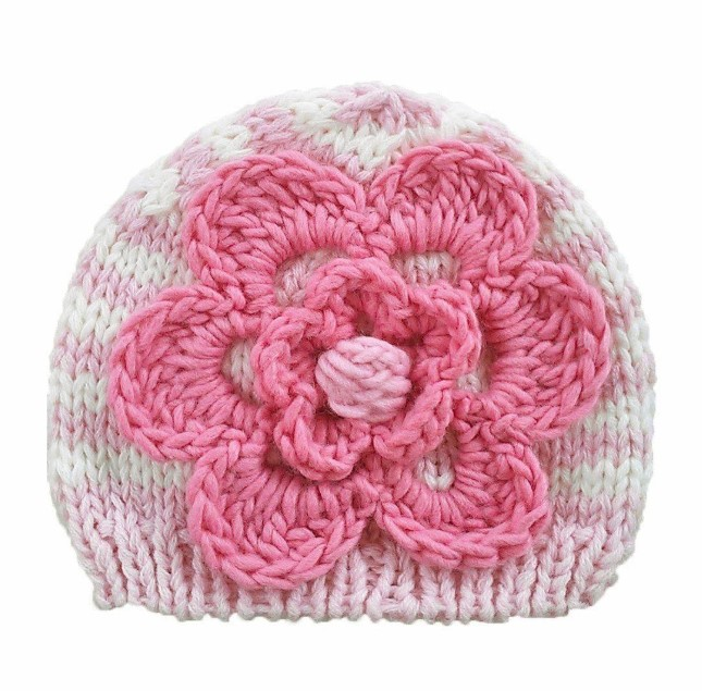 Pastel Hat with Flower