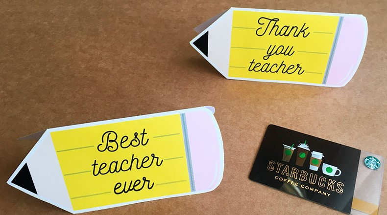 Pencil-Shaped Card