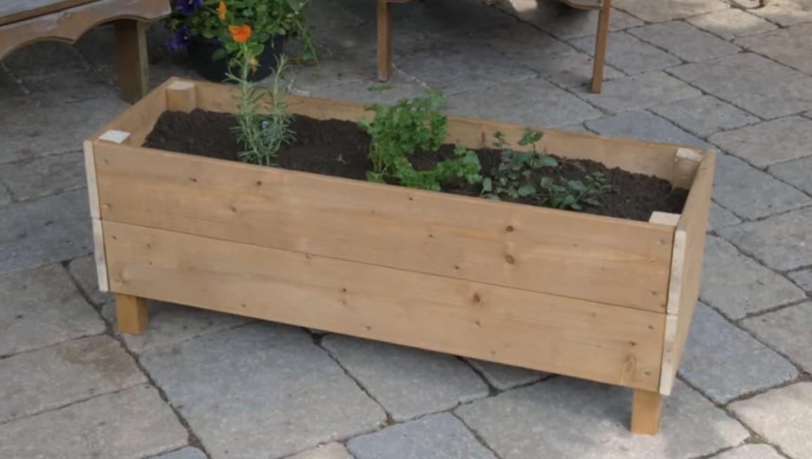 Planter Box for Herb Garden