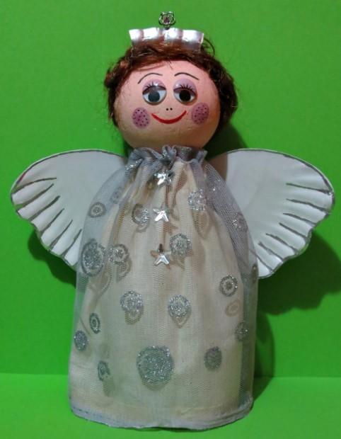 Plastic Angel Bottle Craft