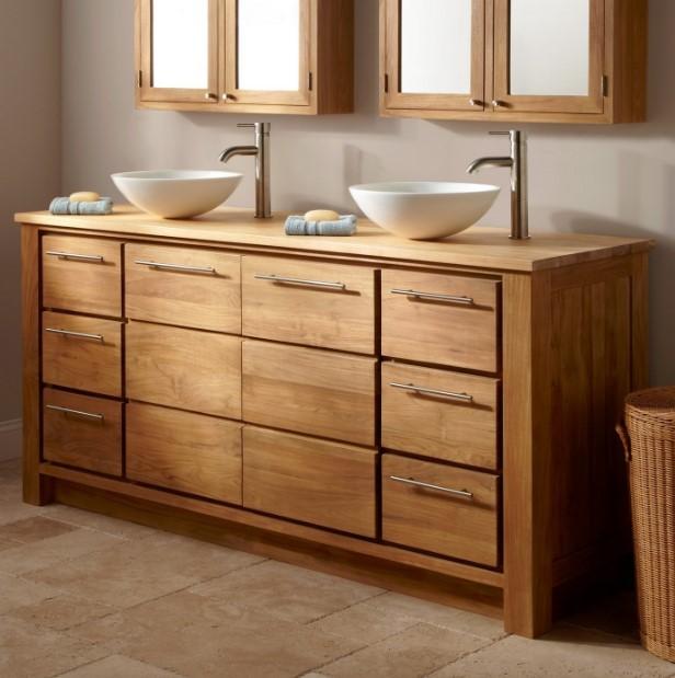 14+ Rustic Bathroom Vanities to Make You Step Back…