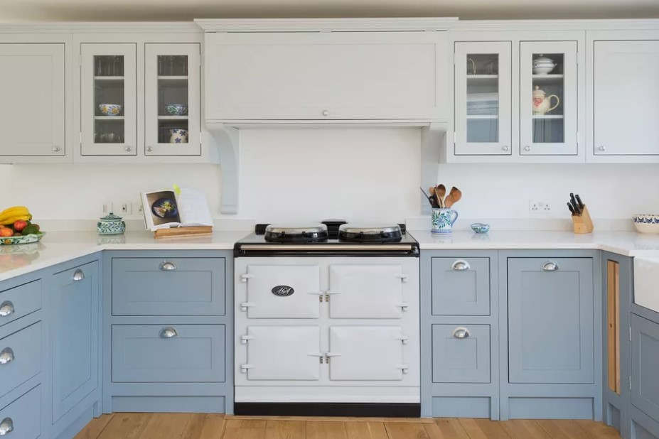 Shaker Blue Kitchen Cabinet
