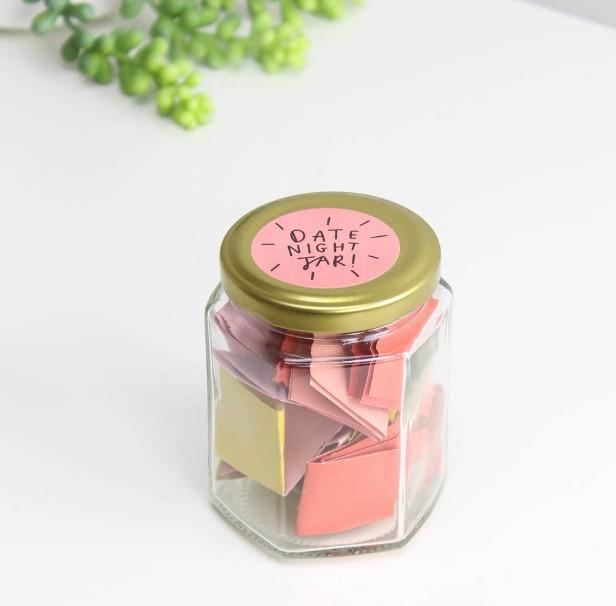 Simple Basic Date Night Jars