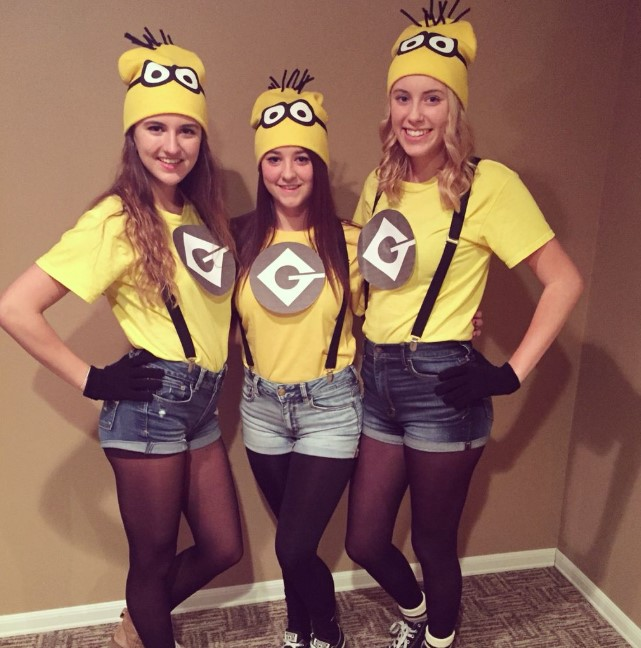 Simple Minion Apparel for Girls
