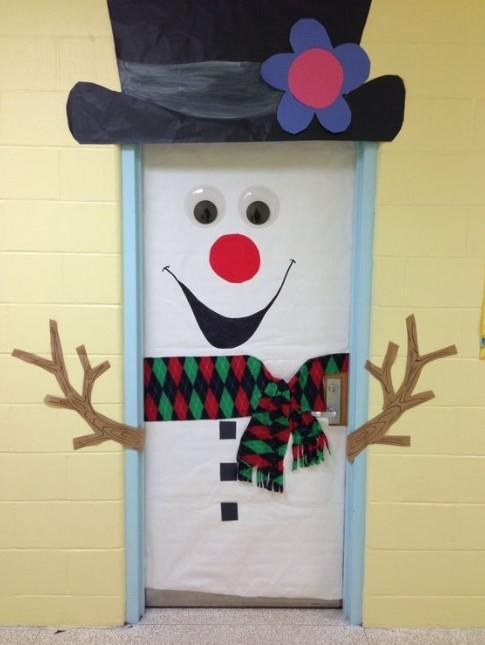 Smiling Mr. Snowman