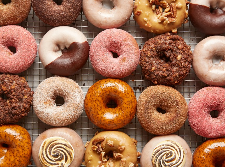 Sweet and Soft Donuts