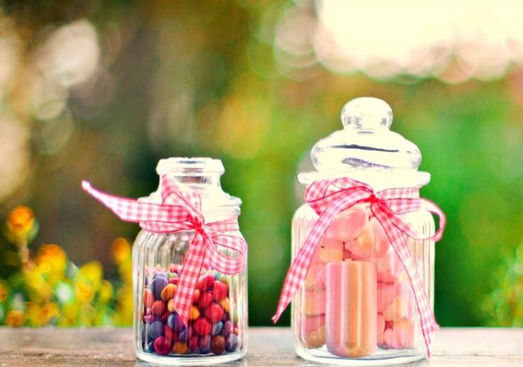 Sweet jar for Christmas Gift