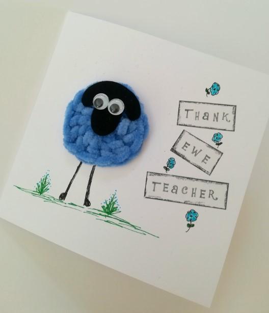 """Thank Ewe"" Teacher"