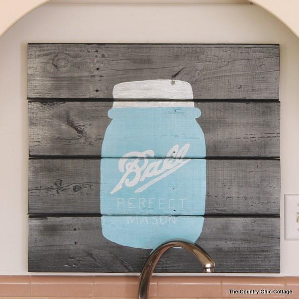 The blue bottle
