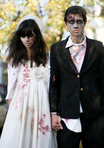 Undead Bride and Groom