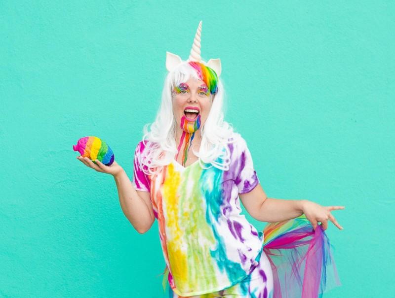 Unicorn Zombie Costume