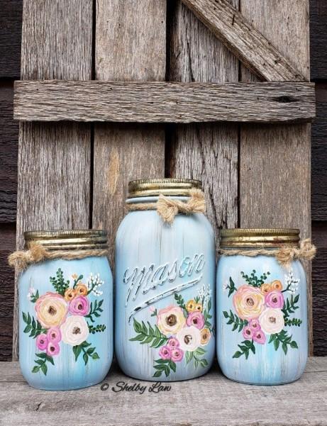 Vintage Style Date Night Jars