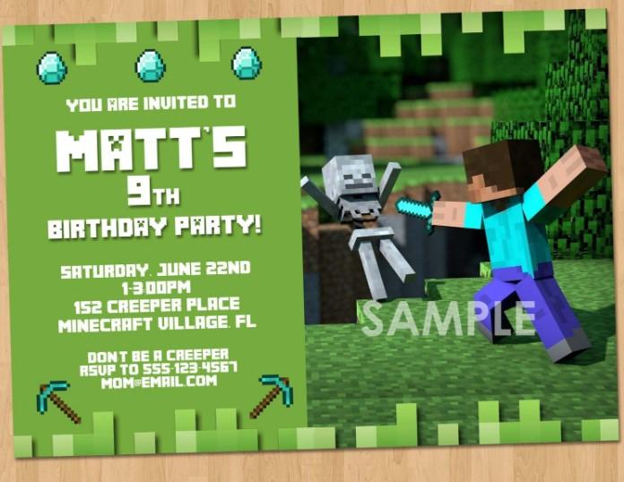 Zombie Fight Birthday Invitation