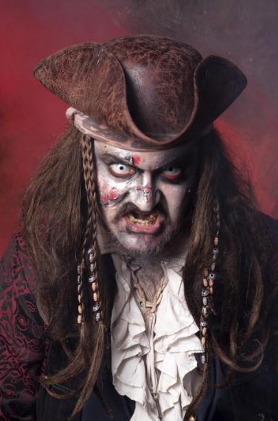 Zombie Pirate Zombie Costume