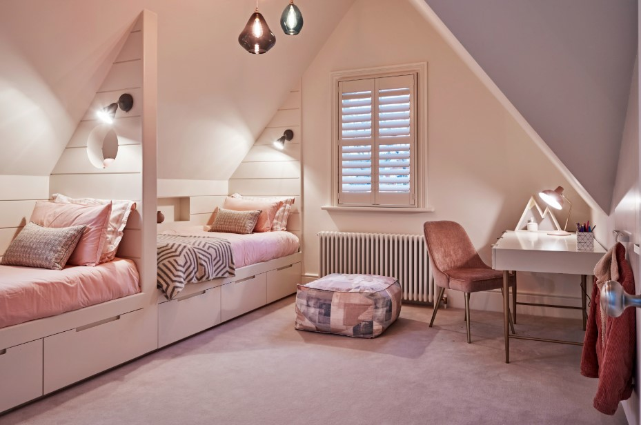 Attic Bedroom Ideas with Various Theme and Concepts
