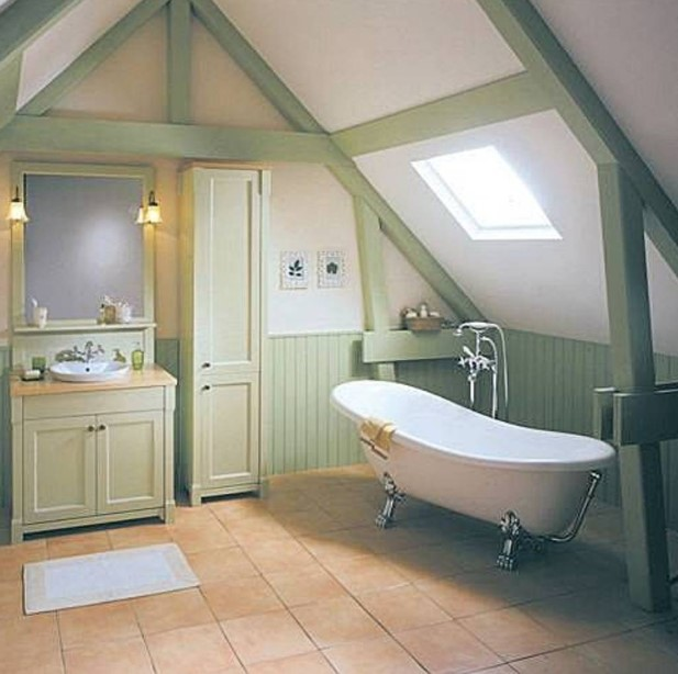 Attic farmhouse bathroom ideas