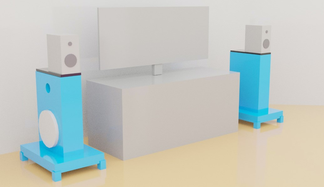 Box Speaker Stand