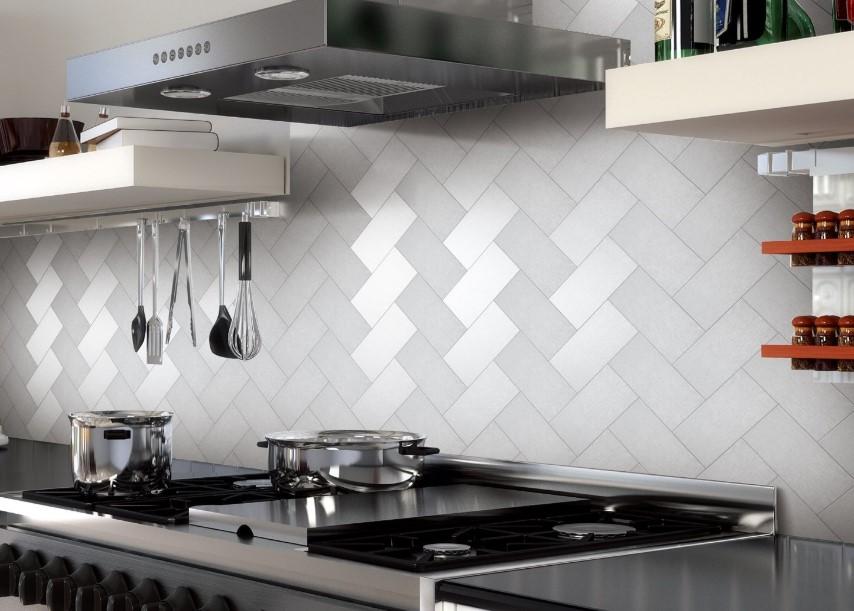 Braided Kitchen Backsplash