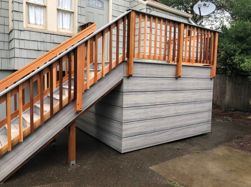 Cheap Deck SkirtingIdeas