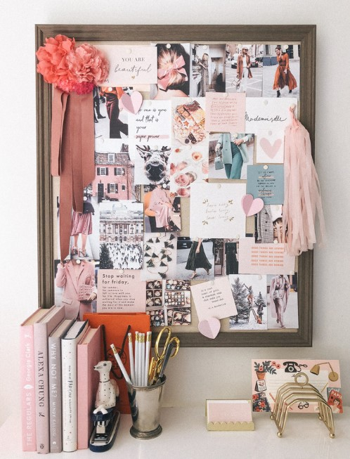 Collage Pictures Cork Board Ideas