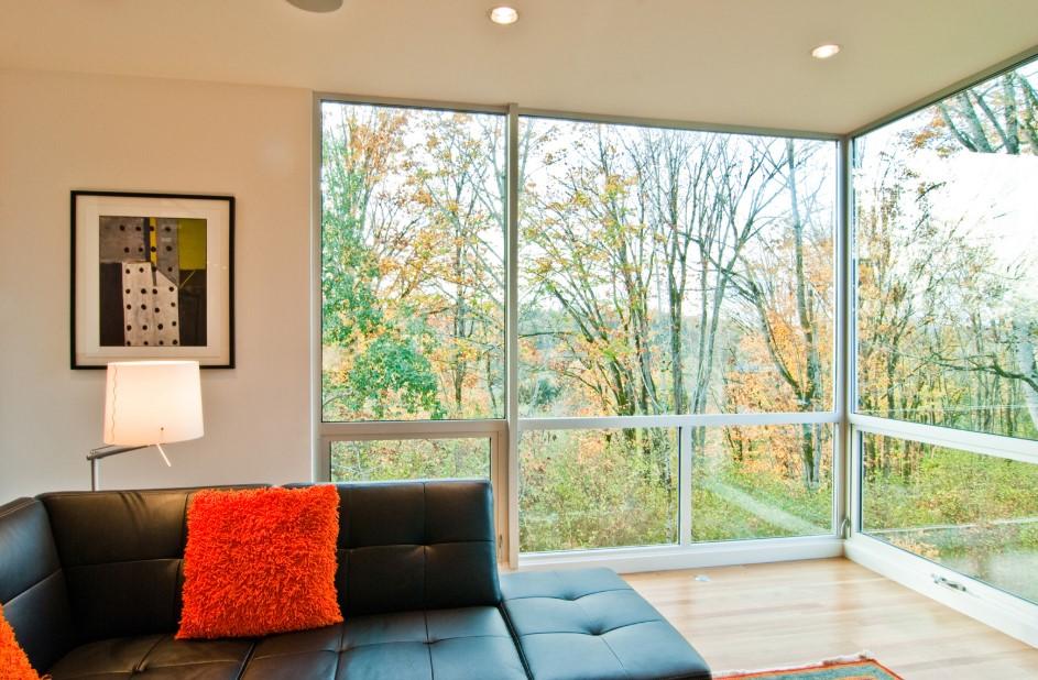 Floor to Ceiling Windows Corner Style