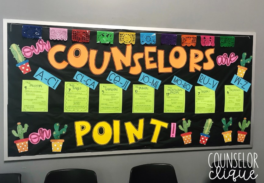 Counselor List Board