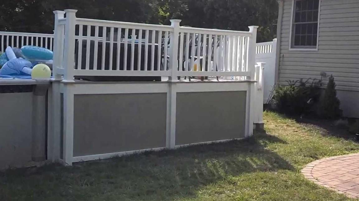 DIY Deck SkirtingIdeas