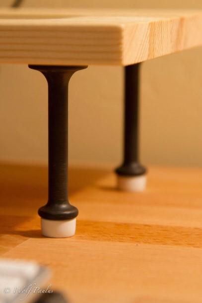 DIY Desk Speaker Stand