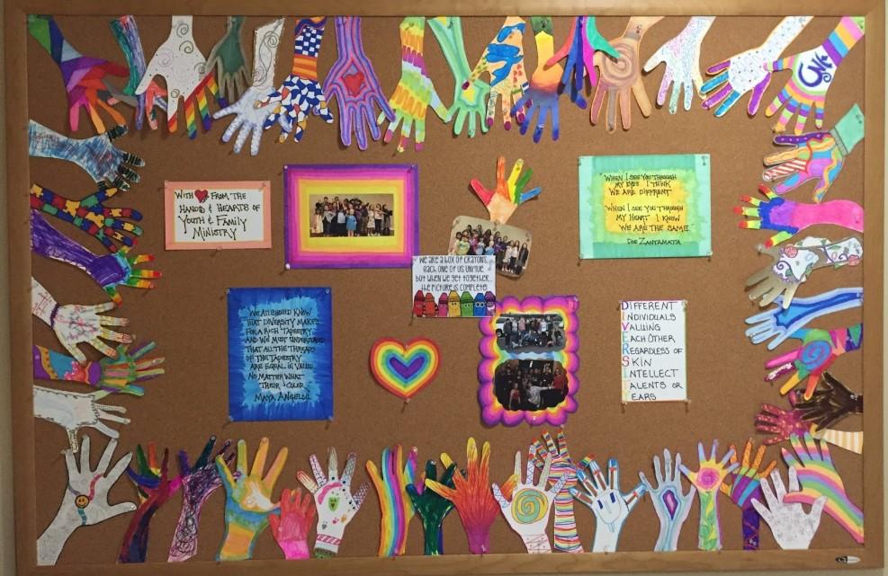 Diversity Handprint Board