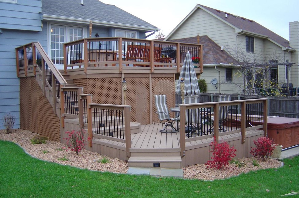 Elevated Deck Skirting Ideas