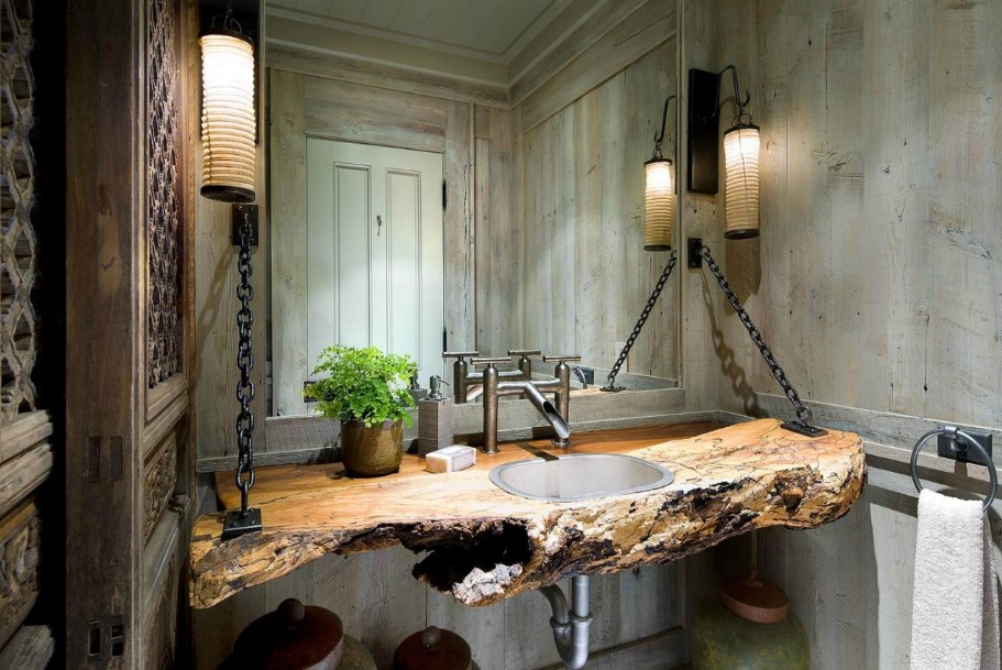 Floating Timber Bathroom Vanity