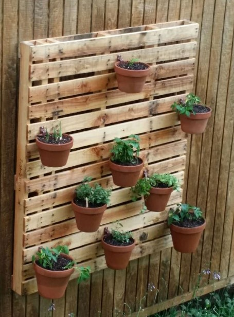 Hanging Wood Plant Stand