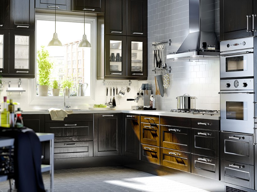High Specs Dark Grey Kitchen Cabinets