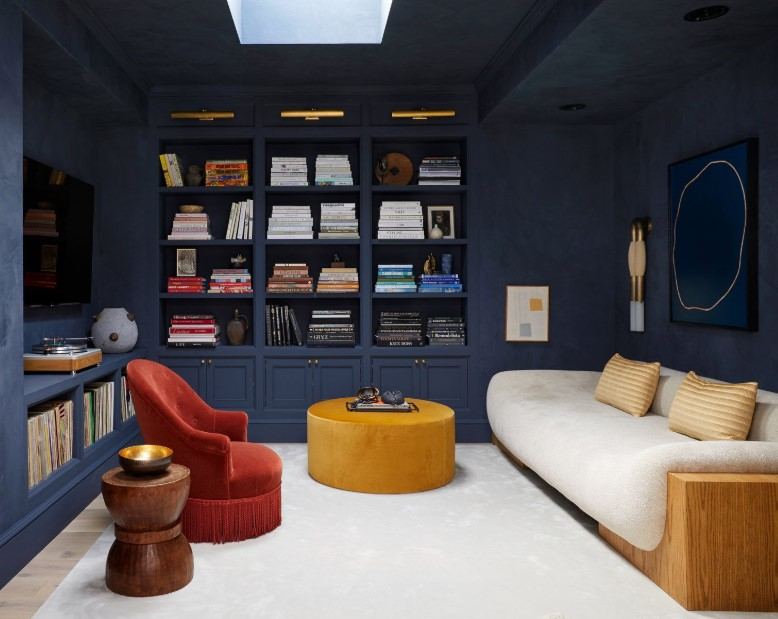 Intimate Movie Room Library Combo