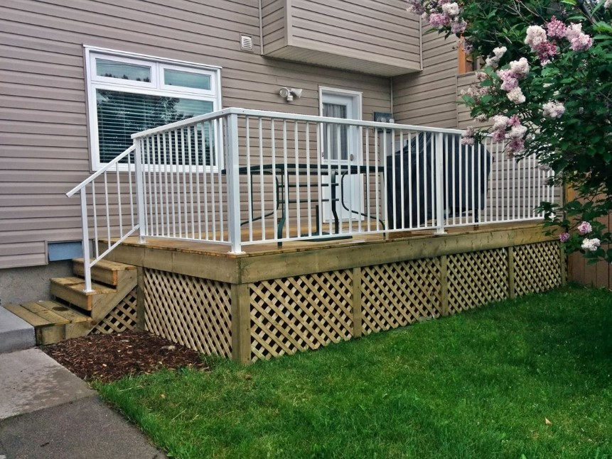 Lattice Deck Skirting Ideas