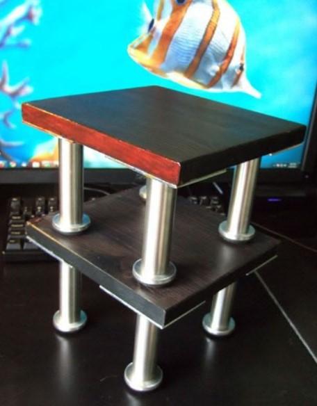 Metal Pipe Speaker Stand