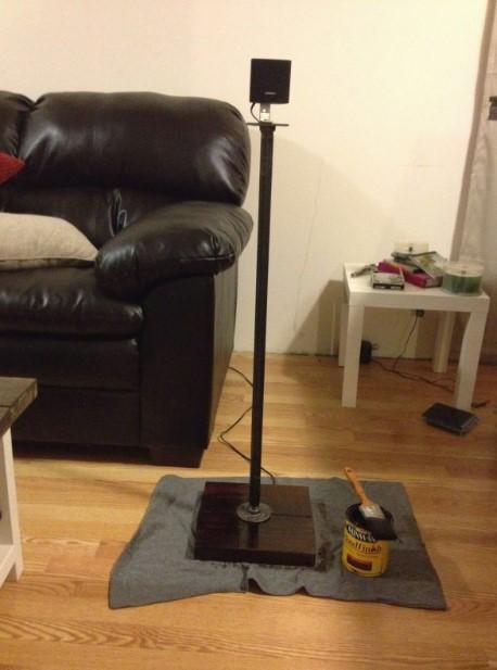 Metal Speaker Stands