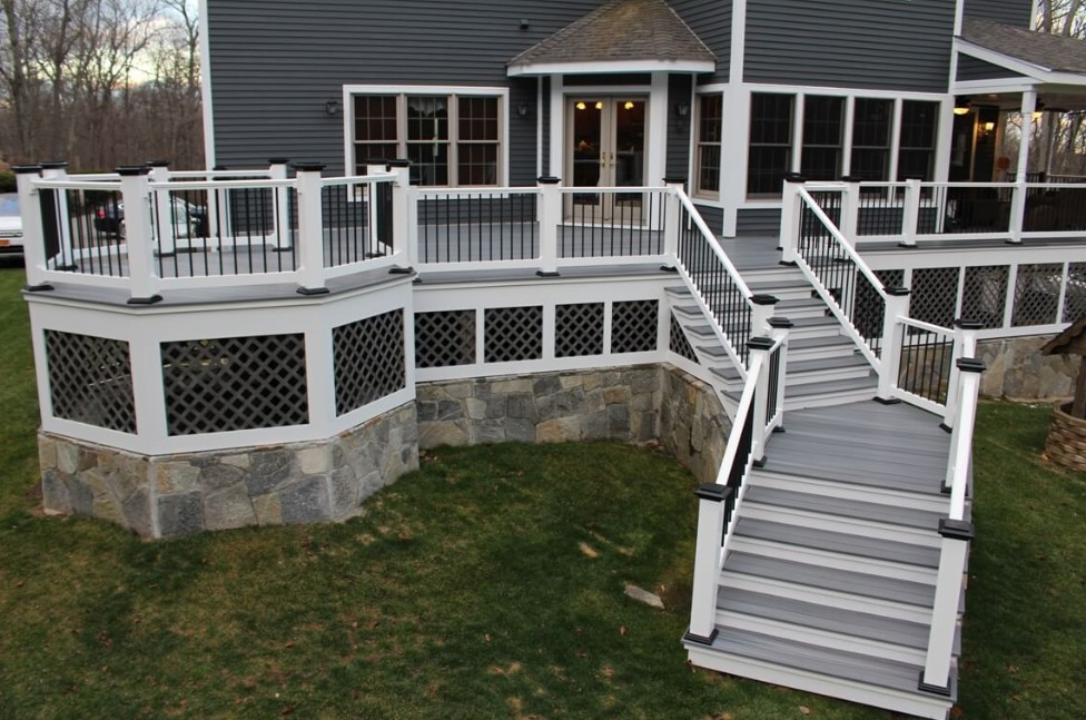 Modern Deck Skirting Ideas