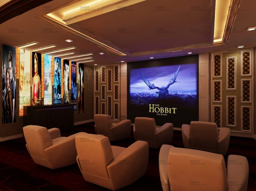 Movie Goers Home Theater