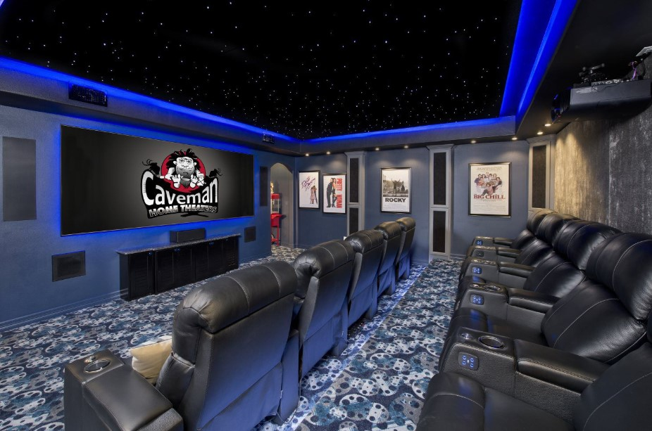 Movie Theater with Skylight