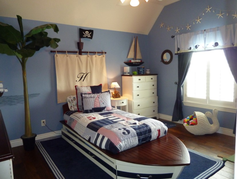 Nautical-Themed Kids Bedroom Ideas