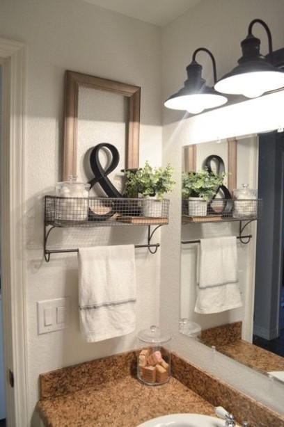 Ornamental farmhouse bathroom ideas