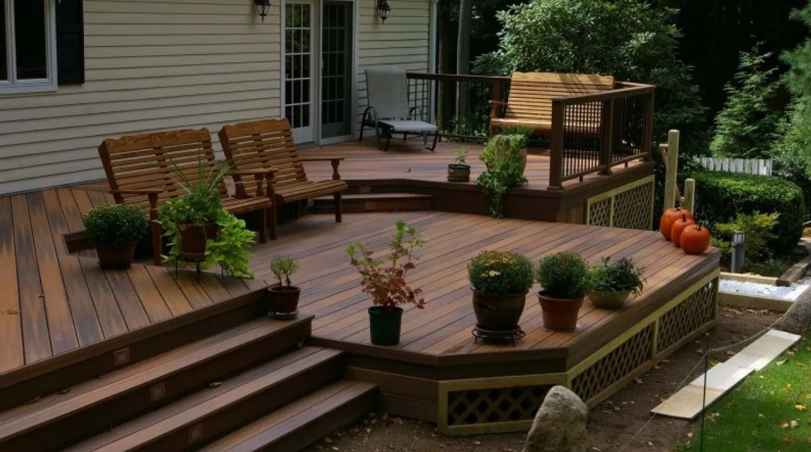 Patio Deck Skirting Ideas
