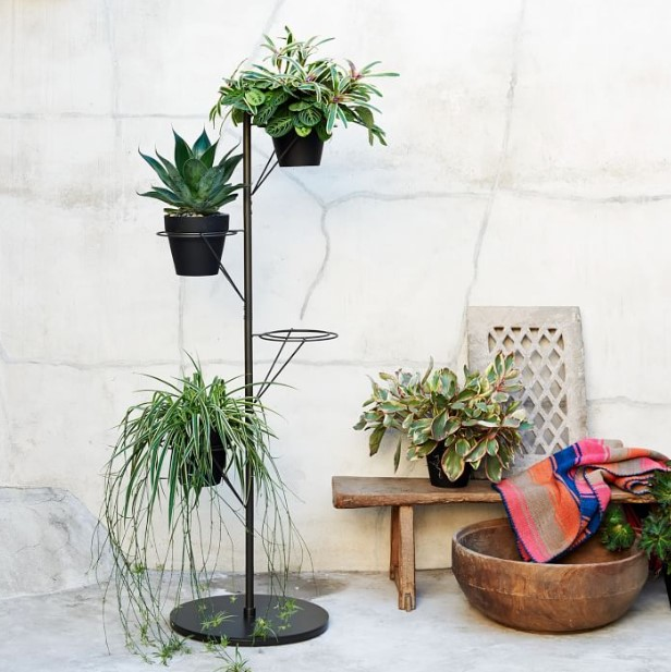Pole Plant Stand
