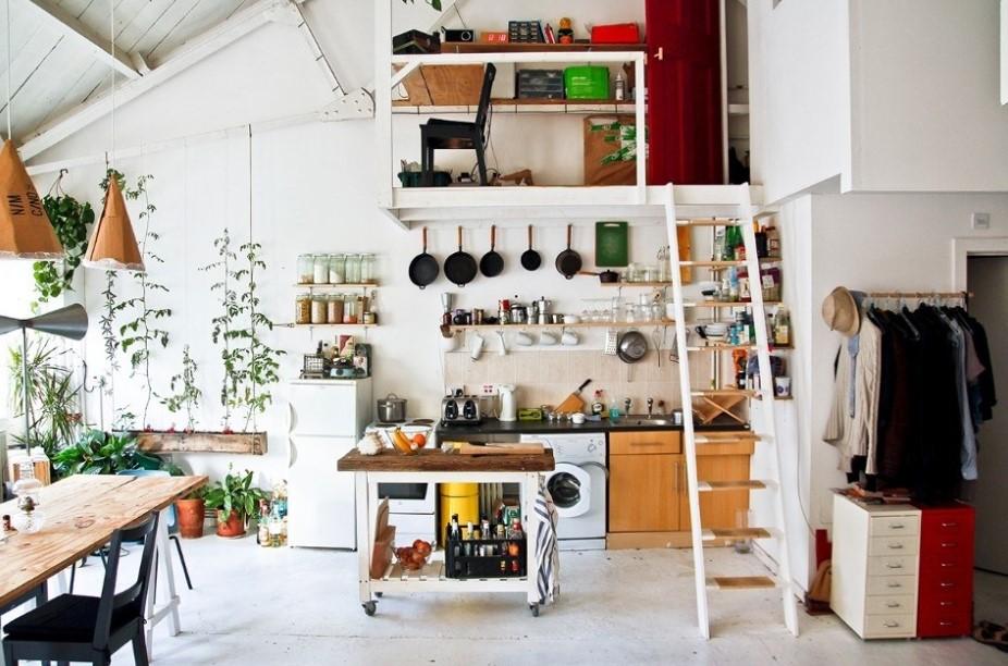 Refreshing design of kitchen